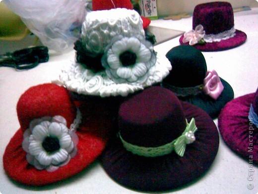 мои шляпки к 8 марта