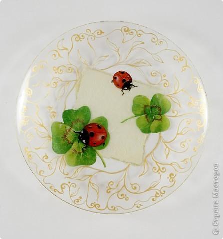 Декор своими руками тарелка