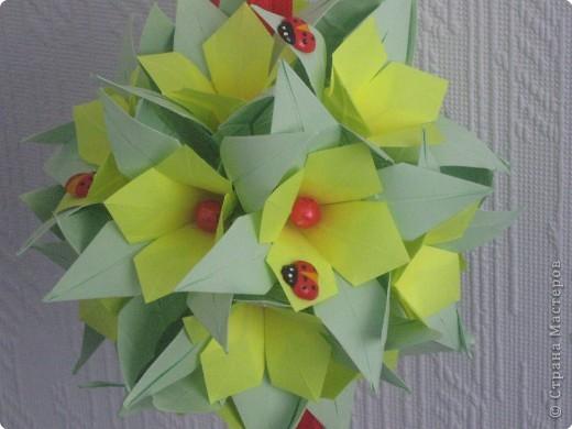 Кусудама Оригами Новые работы