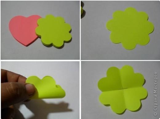 Бумагопластика Цветы для
