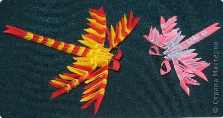 7 марта я проводила VII городскую олимпиаду по оригами среди учащихся школ города Енисейска. Первый тур был заочный. Был запущен треугольный модуль. Нужно было в технике китайского модульного оригами сложить любую модель. И вот, что дети сотворили. фото 8