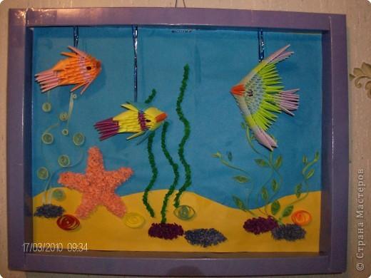 Подводный мир Бумага