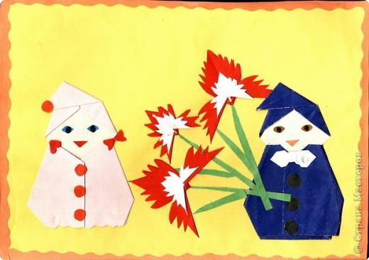 Ангела вера, модульное оригами открытки к 8 марта