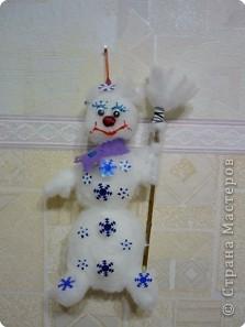 """Ёлочка со снеговичком """"Здравствуй, здравствуй, Новый год!"""" фото 7"""