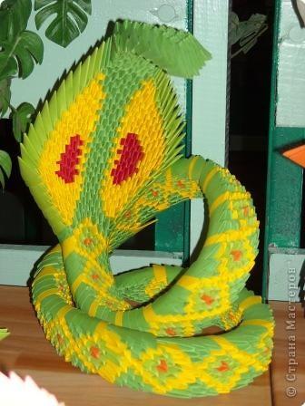 Мне очень понравилась змея. Но конструкция шаткая и неустойчивая.  автор идеи -  Манмаруся (https://stranamasterov.ru/user/11997) фото 2