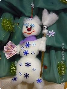 """Ёлочка со снеговичком """"Здравствуй, здравствуй, Новый год!"""" фото 8"""