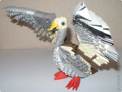 Модульное оригами утка