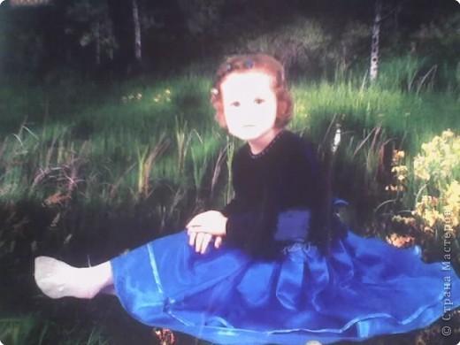На день рождения племянницы пошила платьице из остатков велюра, атласа и фатина. Вот такая у нас принцесса Виолетта. фото 2