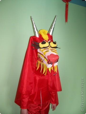 Костюм китайского дракона (для народного китайского танца).