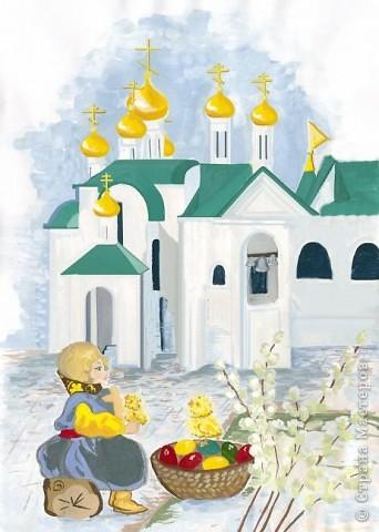 Поздравляем всех жителей страны мастеров с великим праздником,с Пасхой!