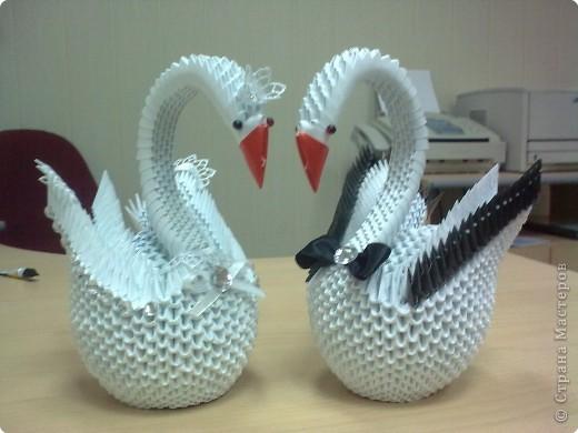 модульное Свадебные лебеди