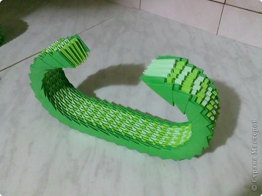 Мастер-класс Поделки для мальчиков День Победы Оригами китайское модульное МК ТАНК Бумага фото 5