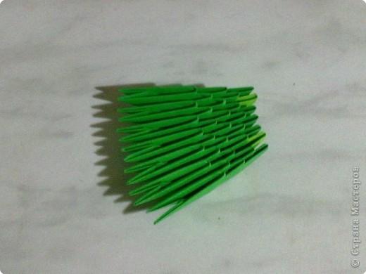Мастер-класс Поделки для мальчиков День Победы Оригами китайское модульное МК ТАНК Бумага фото 12