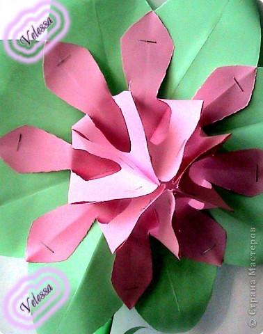 Этот цветочек сделала как-то, на подарок но ... он остался дома))  фото 1