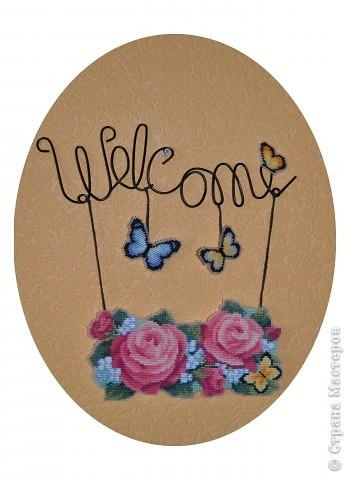 Вышивка крестом: Welcome