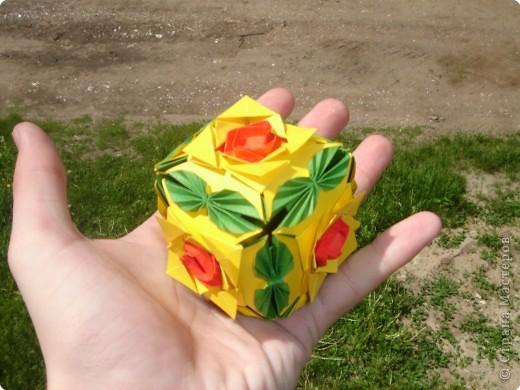 Кусудама Оригами Мои кусудамы