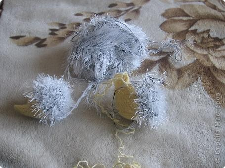 Мастер-класс Вязание крючком Вяжем Ежика МК Пряжа фото 6