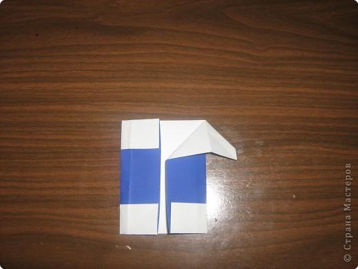 Мастер-класс Оригами Гномик-оригами МК Бумага фото 8