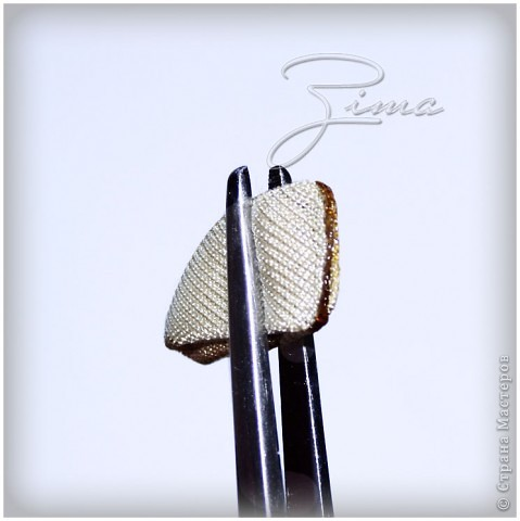 Мастер-класс Украшение Цумами Канзаши МК Цветок канзаши Ткань фото 10