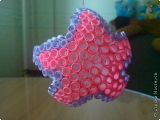 Квиллинг: Звёздочка и шарик фото 1
