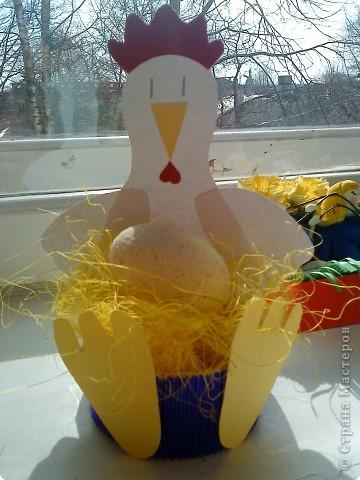 Петушок с гнездом. фото 1