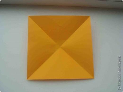 """Такую коробочку или кошелек с секретом я умела делать давно, но забыла. Благодаря энциклопедии """"Оригами"""" (автор Рик Бич), вспомнила.  Вот так выглядят готовые изделия. В чем секрет? Сначала сделаем кошелечек. фото 2"""
