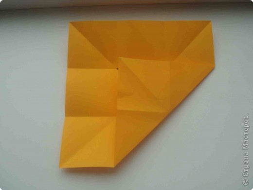 """Такую коробочку или кошелек с секретом я умела делать давно, но забыла. Благодаря энциклопедии """"Оригами"""" (автор Рик Бич), вспомнила.  Вот так выглядят готовые изделия. В чем секрет? Сначала сделаем кошелечек. фото 5"""