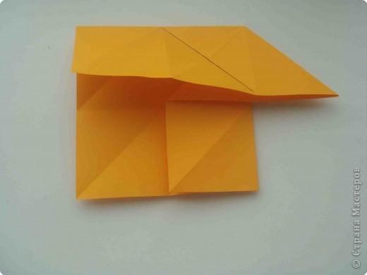 Мастер-класс Оригами Коробочка кошелек с секретом Бумага фото 9