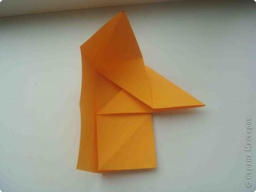"""Такую коробочку или кошелек с секретом я умела делать давно, но забыла. Благодаря энциклопедии """"Оригами"""" (автор Рик Бич), вспомнила.  Вот так выглядят готовые изделия. В чем секрет? Сначала сделаем кошелечек. фото 10"""