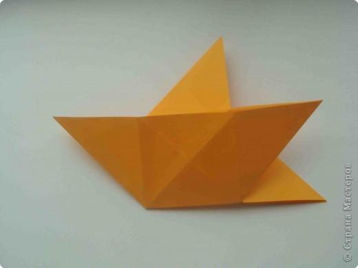 """Такую коробочку или кошелек с секретом я умела делать давно, но забыла. Благодаря энциклопедии """"Оригами"""" (автор Рик Бич), вспомнила.  Вот так выглядят готовые изделия. В чем секрет? Сначала сделаем кошелечек. фото 15"""