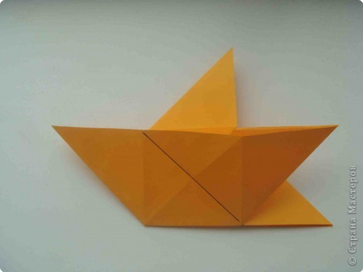 Мастер-класс Оригами Коробочка кошелек с секретом Бумага фото 16