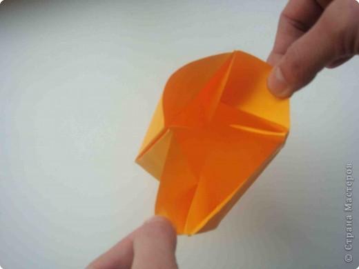 Мастер-класс Оригами Коробочка кошелек с секретом Бумага фото 22