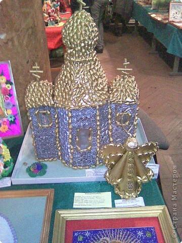 Выставка поделок из макарон