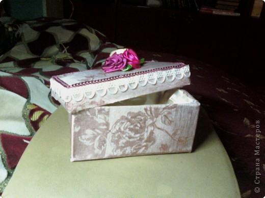 Как сделать из коробки конфет шкатулку