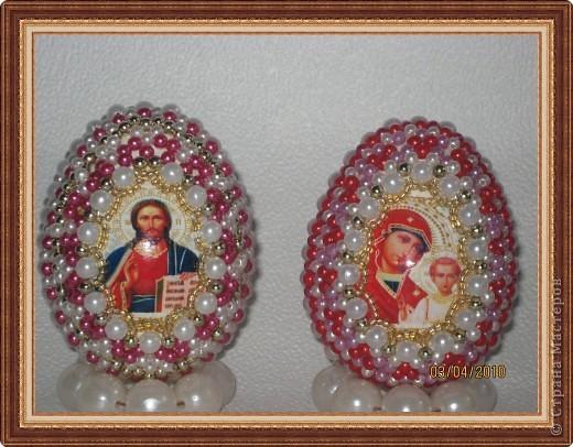 Яйца оплетенные бисером-2