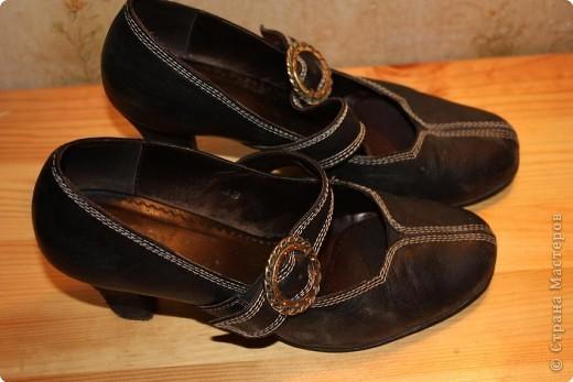 Новенькие туфельки после маленького волшебства над ними.... фото 2