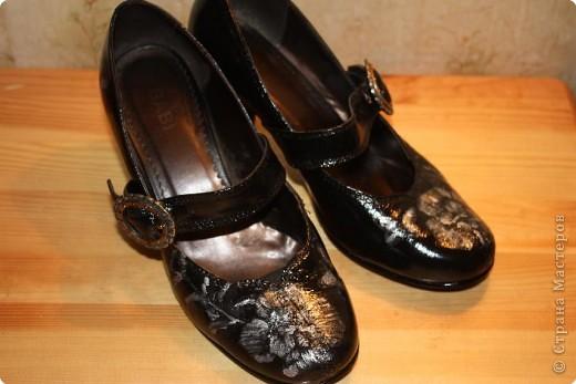 Новенькие туфельки после маленького волшебства над ними.... фото 7