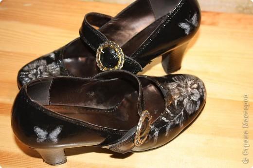 Новенькие туфельки после маленького волшебства над ними.... фото 5