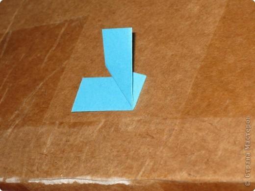 Сегодня я покажу как сделать треугольный модуль для занятия модульным оригами. фото 8