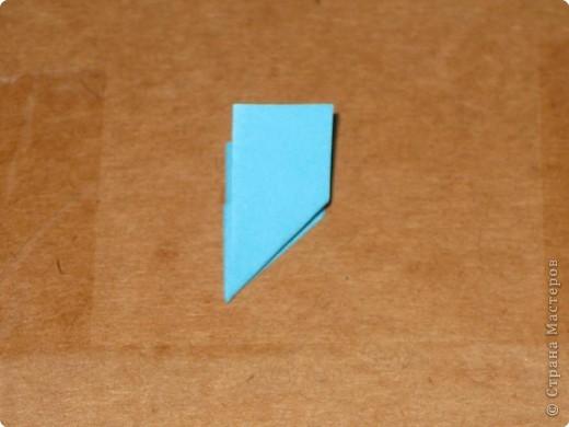 Сегодня я покажу как сделать треугольный модуль для занятия модульным оригами. фото 10