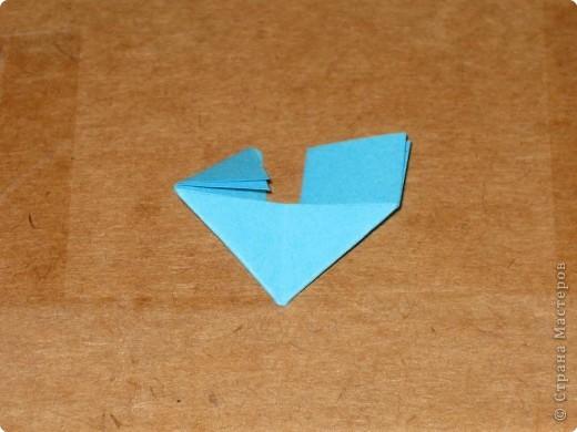 Сегодня я покажу как сделать треугольный модуль для занятия модульным оригами. фото 13