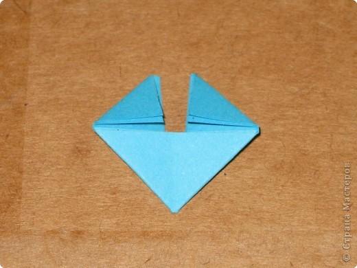 Сегодня я покажу как сделать треугольный модуль для занятия модульным оригами. фото 14