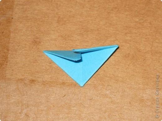 Сегодня я покажу как сделать треугольный модуль для занятия модульным оригами. фото 15