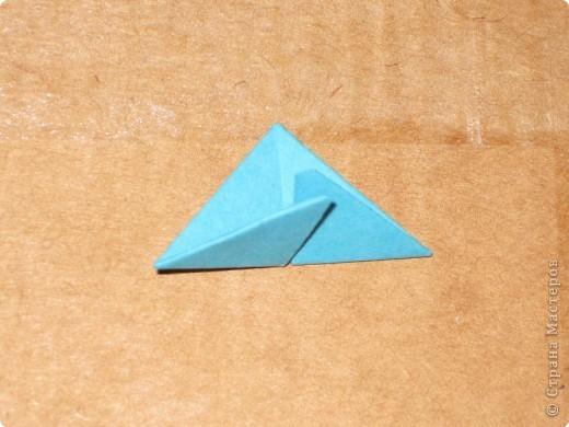 Сегодня я покажу как сделать треугольный модуль для занятия модульным оригами. фото 16