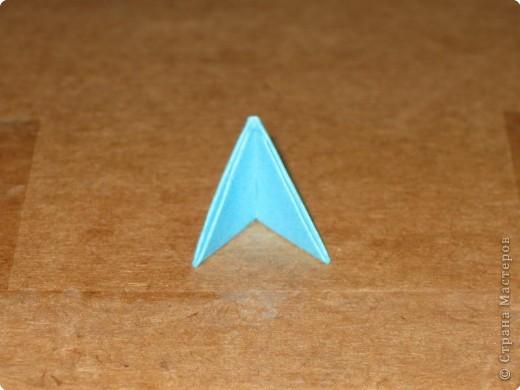 Сегодня я покажу как сделать треугольный модуль для занятия модульным оригами. фото 18