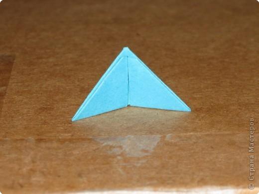 Сегодня я покажу как сделать треугольный модуль для занятия модульным оригами. фото 17