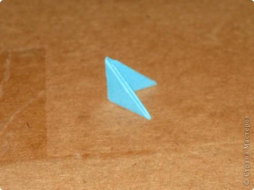 Сегодня я покажу как сделать треугольный модуль для занятия модульным оригами. фото 19