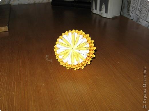Оригами модульное: Лимон