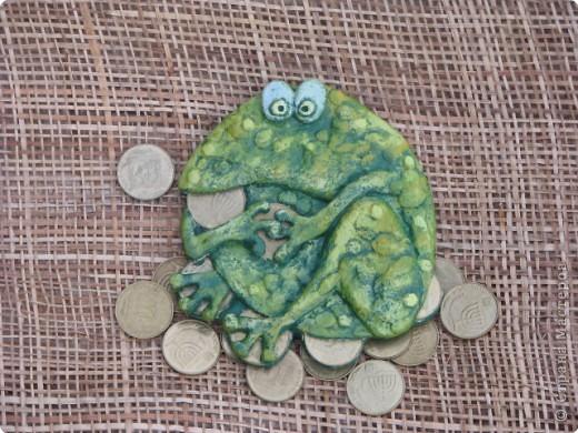 Денежная лягушка своими руками