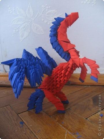 Оригами модульное: Пегас))) фото 2
